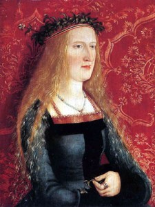 Bernhard Strigel - Bride picture of a patrician lady1500