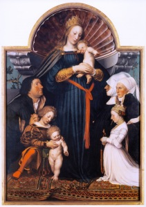 Darmstadt madonna hans holbein younger 1526 28 meyer  family