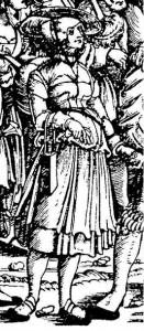 Edhard Schoen G.1235-1238. Detail – Army Train 1532 The German single-leaf woodcut, 1500-1550, Max Geisberg