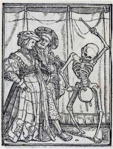 nobles Holbein Hans, le jeune (Les Simulacres de la Mort c. 1526