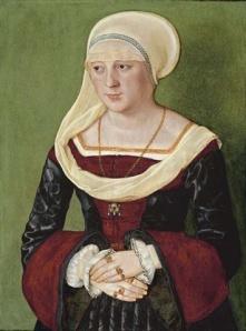 ortrait of Anna Scheit, nee Mem(m)inger Beham, Barthel (painter) 1528