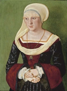 ortrait of Anna Scheit, nee Mem(m)inger Beham, Barthel (painter) 1528