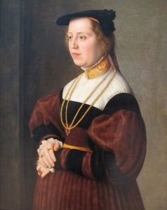 Portrait of a Lady by Barthel Beham,1537