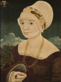 Portrait of a Lady c. 1520 Attributed to Martin Schaffner