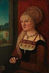 Portrait of a women by Bernard Strigel, c 1515