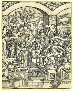 woodcut made by the German artist Matthias Gerung, c.1544-1558