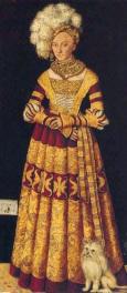 c. 1514 - Portrait of Duchess katharine of mecklenburg